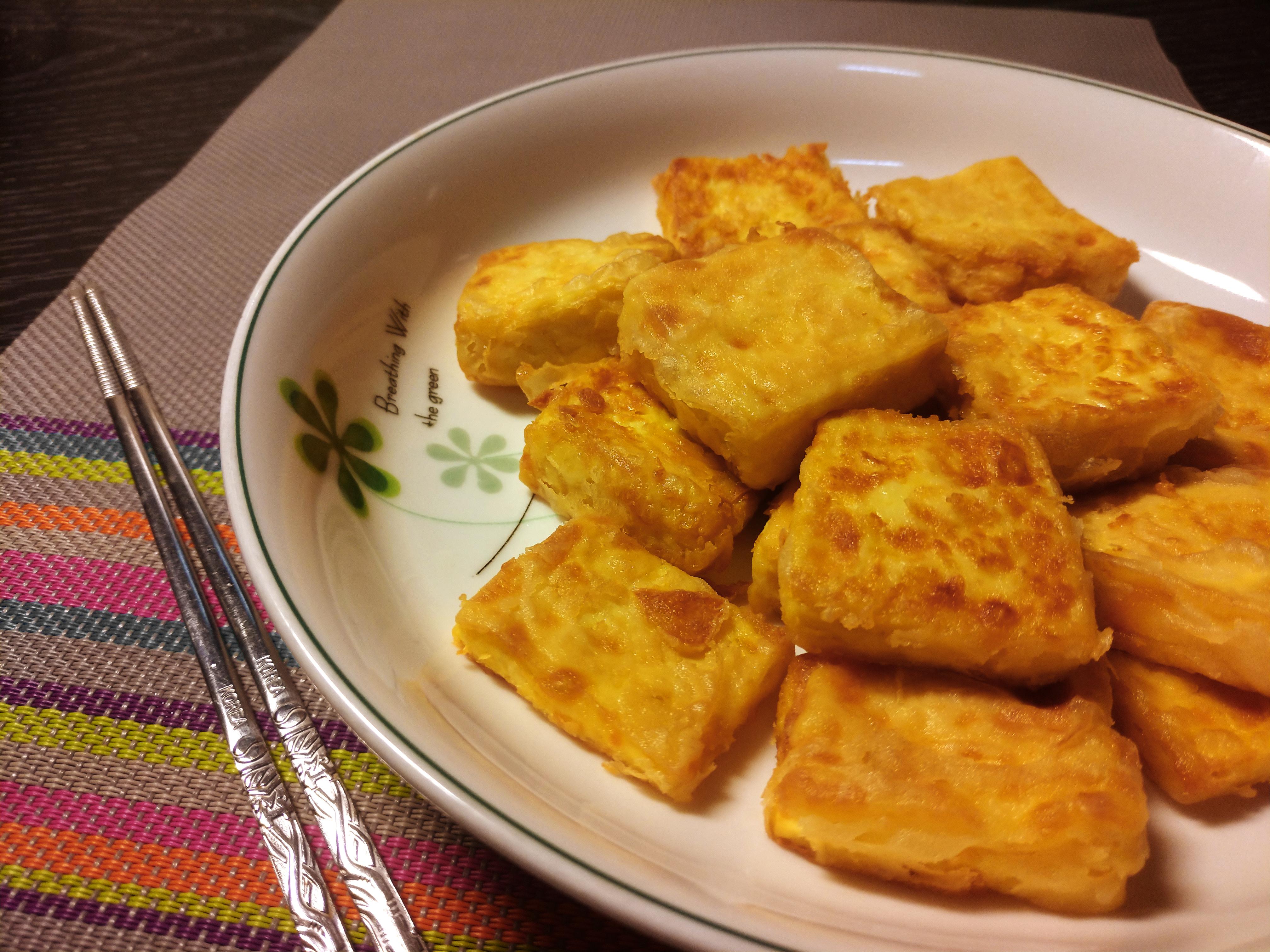 【家常菜】簡單易做的「脆皮豆腐」