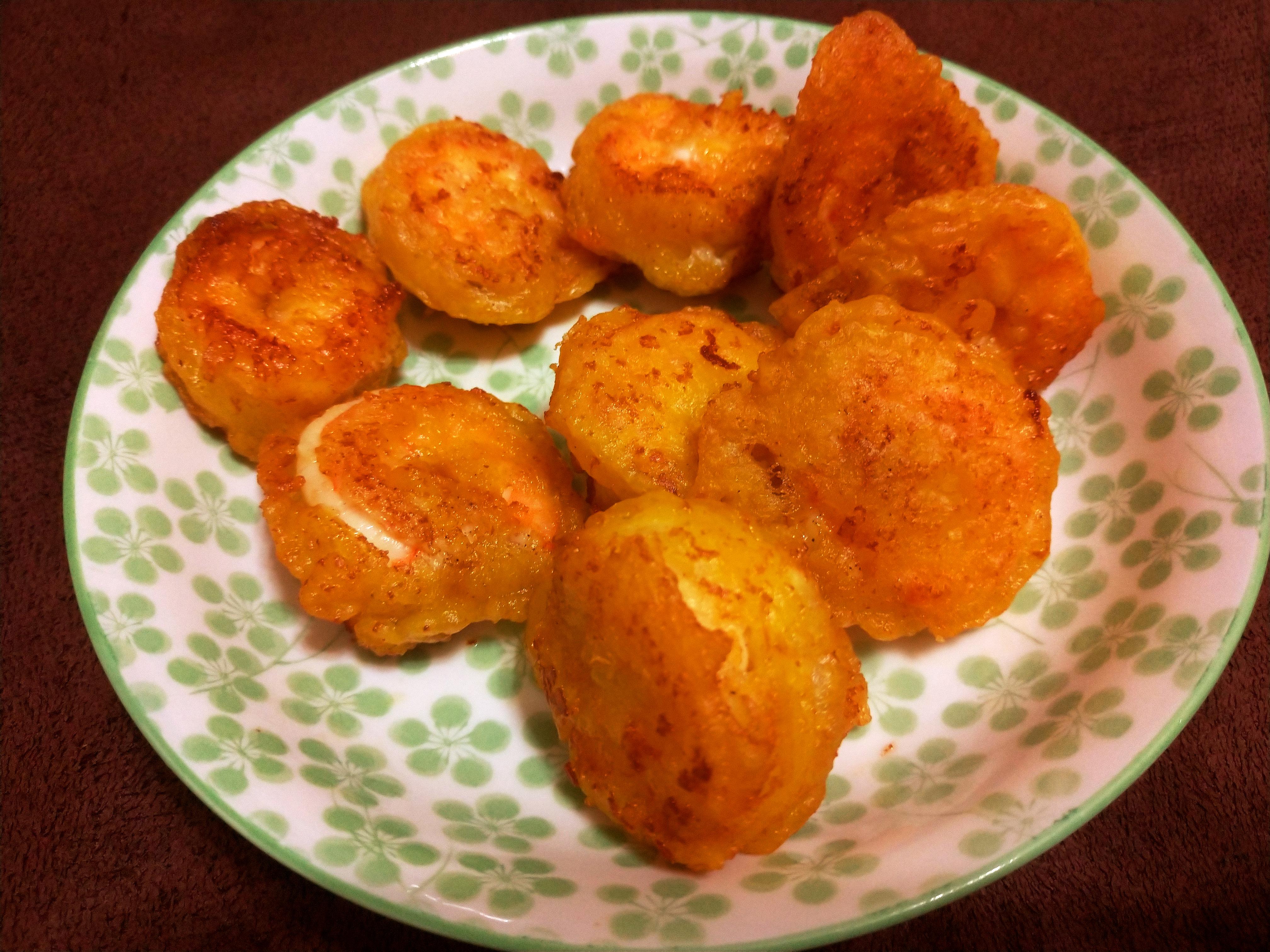 【年菜】酥脆、鮮甜的「黃金蝦球」