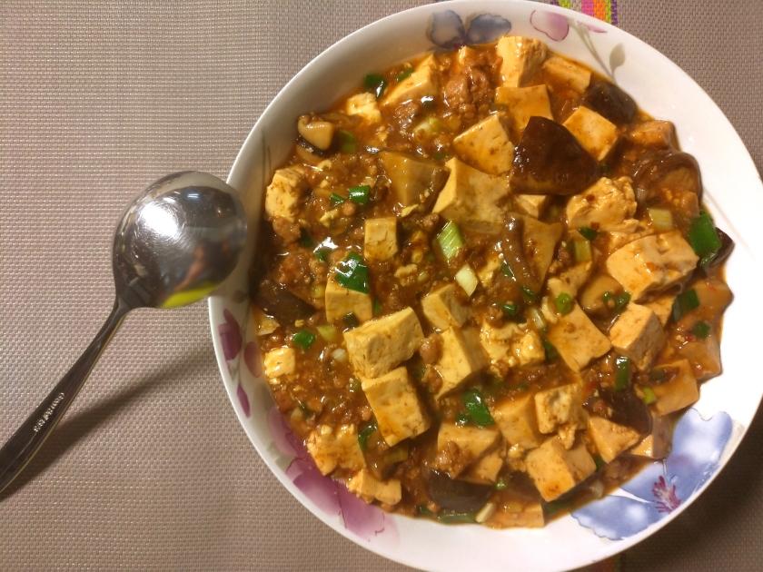 麻婆豆腐 ( Mapo Tofu )